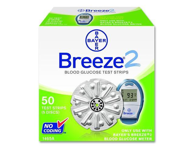 Bayer's Breeze®2 Blood Glucose Test Discs