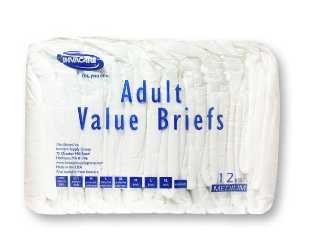 Invacare® Value Series Adult Briefs - OEM