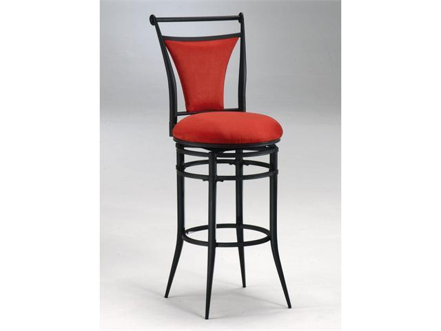 Hillsdale Furniture Cierra Swivel Barstool Flame