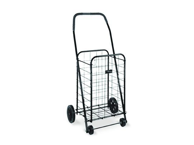 Folding Shopping Cart In Black - OEM