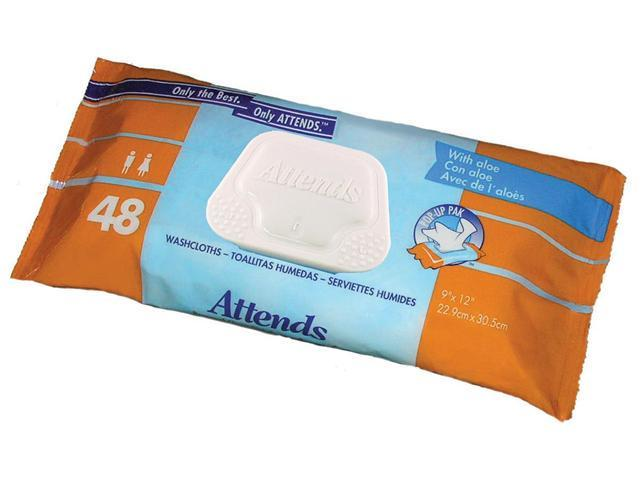 Attends Washcloths Convenience Pack - OEM