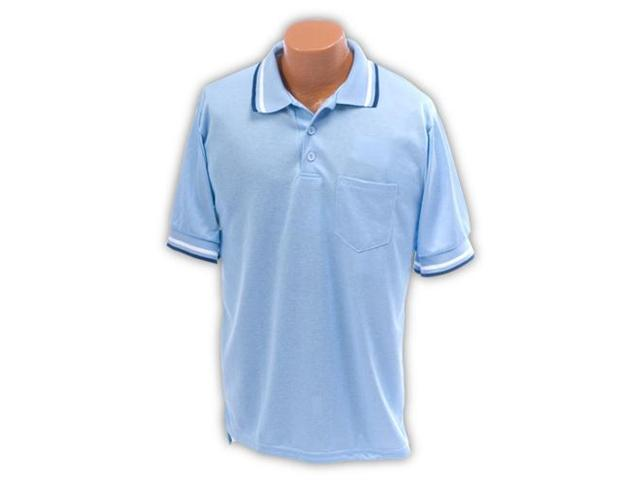Ssg - Bsn LBUMPXXX Umpire Shirt Light Blue 3XL Baseball-Softball Clothing