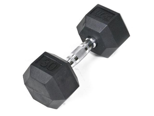 J Fit Rubber Coated Dumbbell