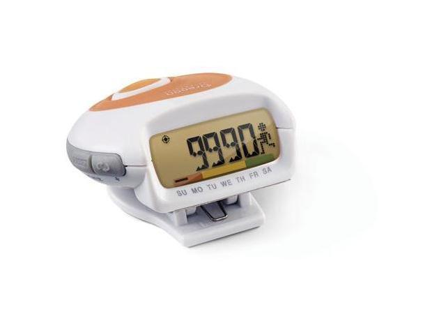 Pedometer with Clock and MSA
