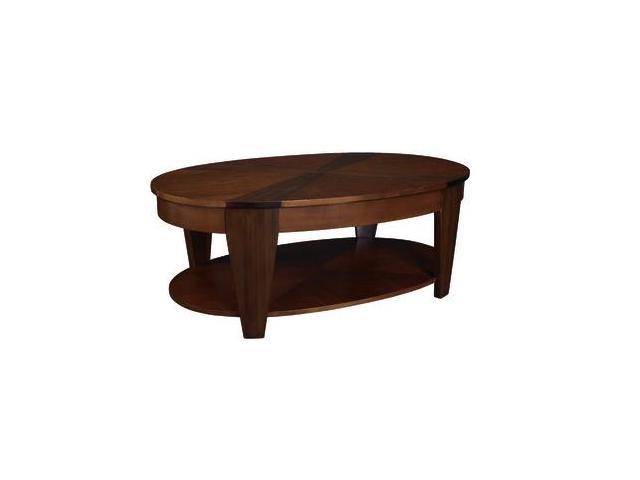 Oasis Oval Cocktail Table W Lift Top