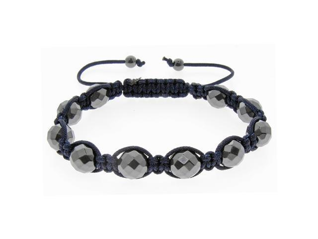 Navy Blue Beads on Navy String