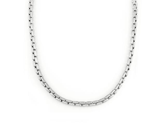 Stainless Steel Chunky Chain Necklace 22