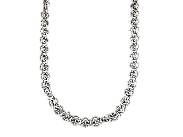 """Stainless Steel Rolo Chain 22 """""""
