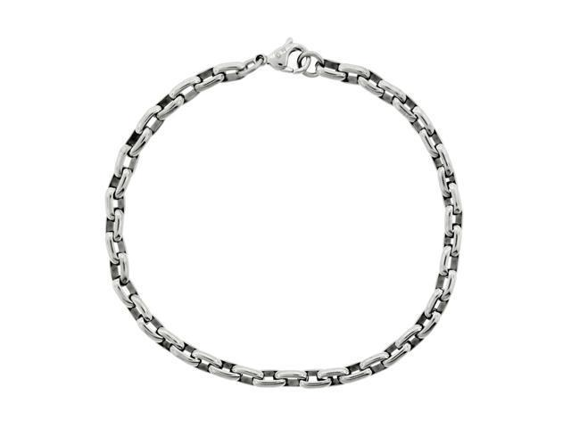 Stainless Steel Thin Rolo Bracelet
