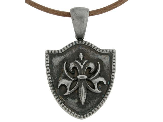 Stainless Steel Pendant with Antique Finishing