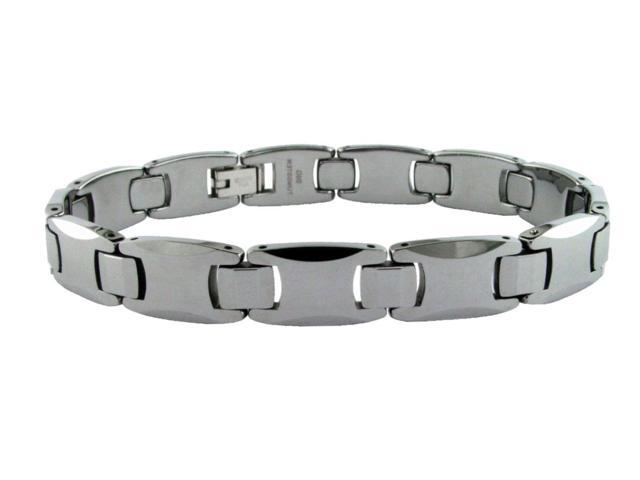 Metro Jewelry Tungsten 8.5 in. Link Bracelet