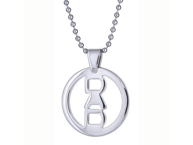 Metro Jewelry Stainless Steel DAD Pendant Necklace