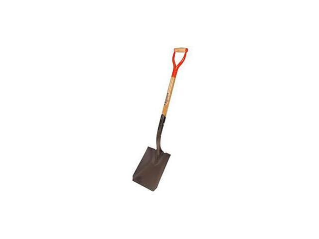 Leonard Square Point Closed Back Shovel With D Grip Handle