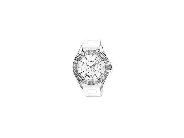 Pulsar Multifunction Crystals White Dial Women's watch #PYR049