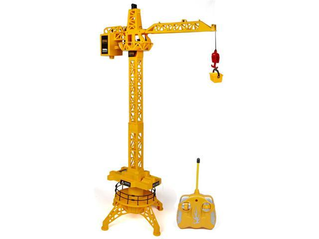 World Tech Toys King Force Crane RTR RC Construction Site Vehicle