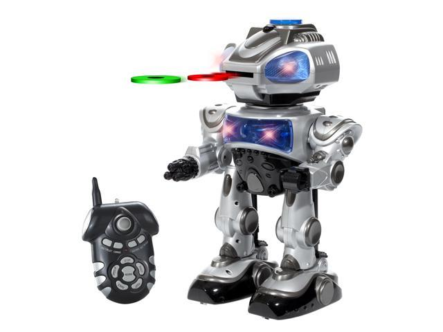 World Tech Toys RoboKid Programmable Disc Shooting RC Robot
