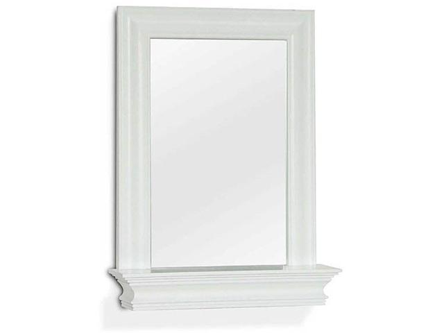 Wall Mirror With Shelf - Stratford Collection - by Elite Home Fashions