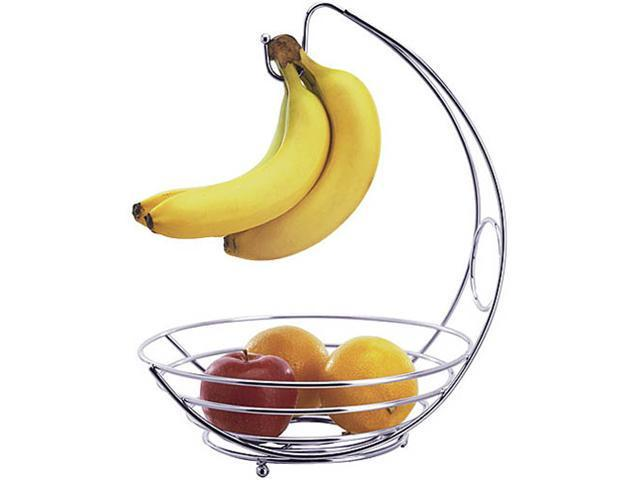 banana tree and fruit bowl