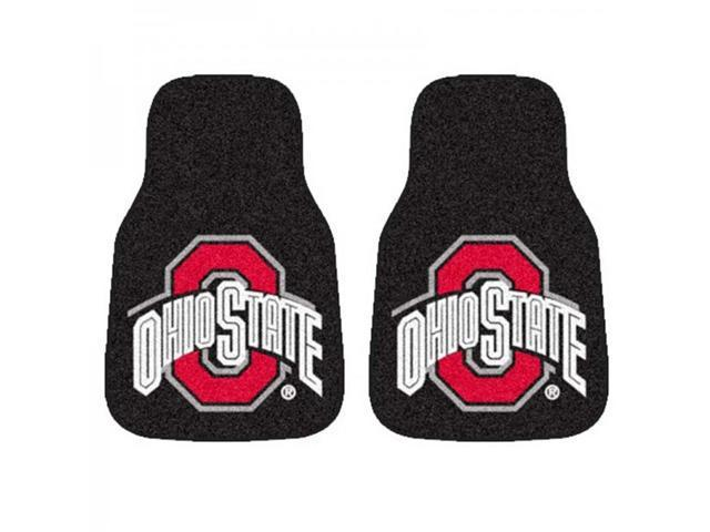NCAA 2-Piece Car Mat Set - Ohio State University - by Fan Mats