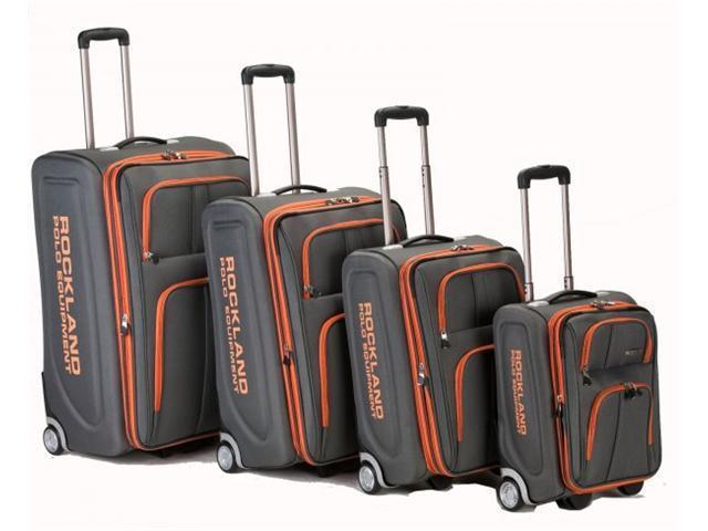 4 Piece Rockland Polo Luggage Set - by Fox Luggage