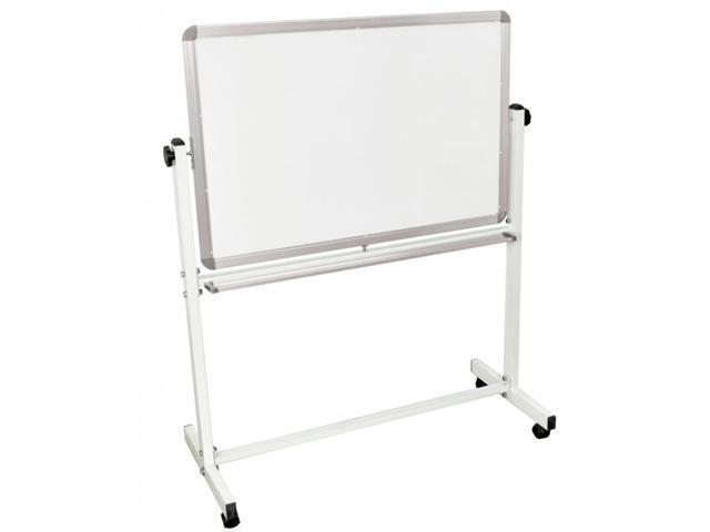 Luxor MB3624WW Mobile Classroom Double Sided Magnetic White Board 36