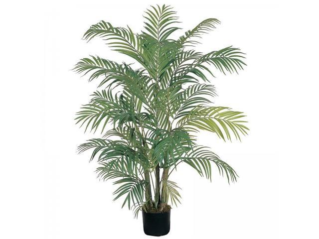 4' Areca Silk Palm Tree - by Nearly Natural