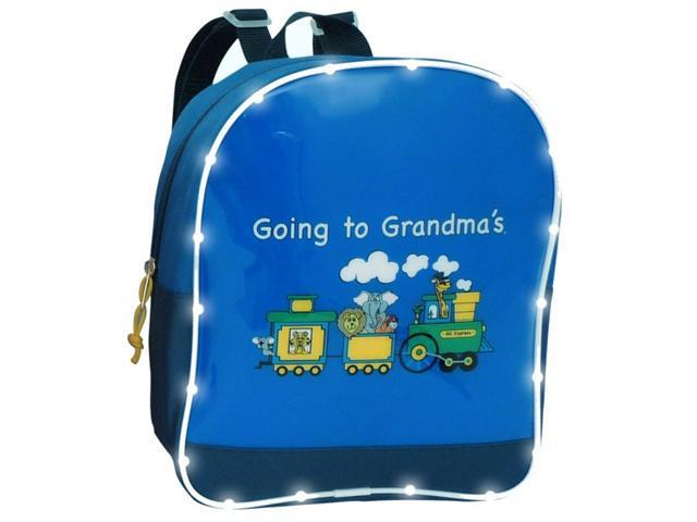Going to Grandma's Light Up Train Backpack - by Mercury Luggage