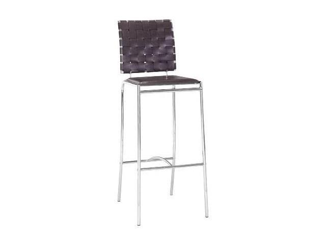 Zuo Modern Criss Cross Barstool - Espresso set of 2 - by Zuo Modern