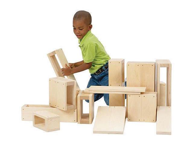 Jr Hollow Blocks - by Guidecraft