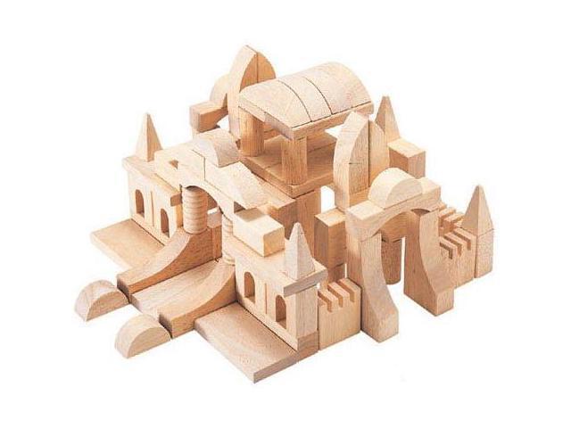 Tabletop Wooden Building Blocks - by Guidecraft