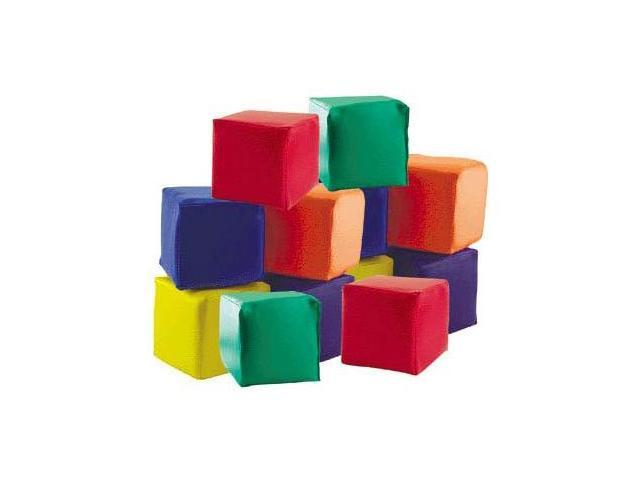 12 Ultra Soft Blocks - For Toddlers - Fun and Safe - by Early Childhood Resources
