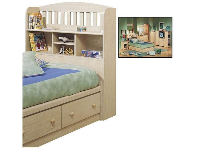 Shaker Twin Bookcase Headboard - by South Shore
