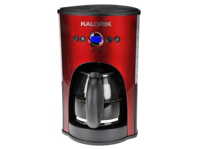 Mr Coffee Isx46 Black With Red 12 Cup Programmable Coffee