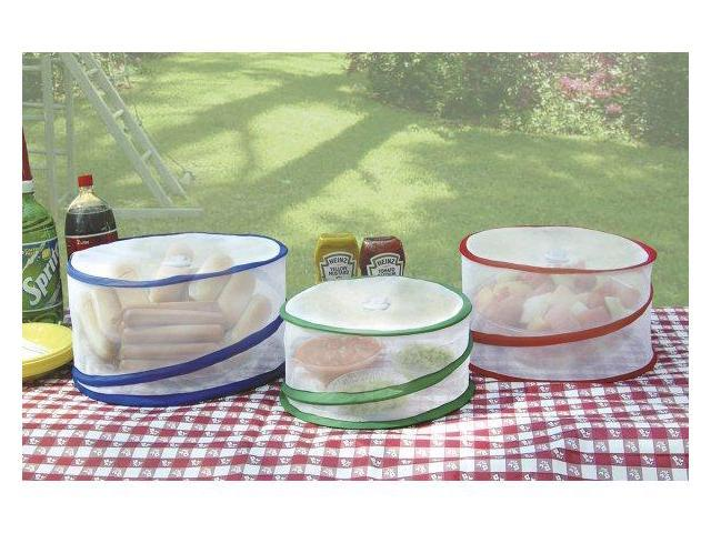 Jobar Pop Up Food Covers, 3/pcs JB4579