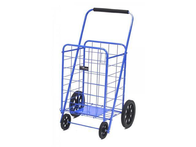 Super Shopping Cart - Folding Grocery Cart - Blue - by Narita Trading
