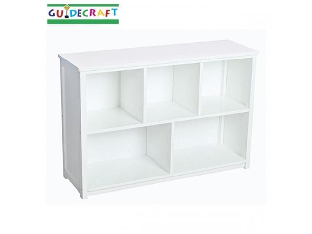 Classic White Bookshelf - by Guidecraft