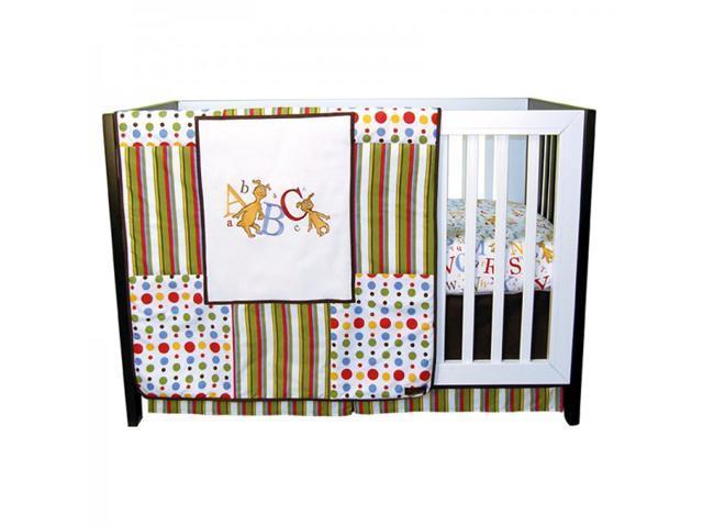 Dr. Seuss ABC 3 Piece Crib Bedding Set - by Trend Lab