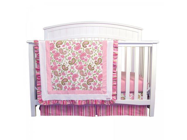 Trend Lab Paisley Park - 3 Piece Crib Bedding Set - 101553