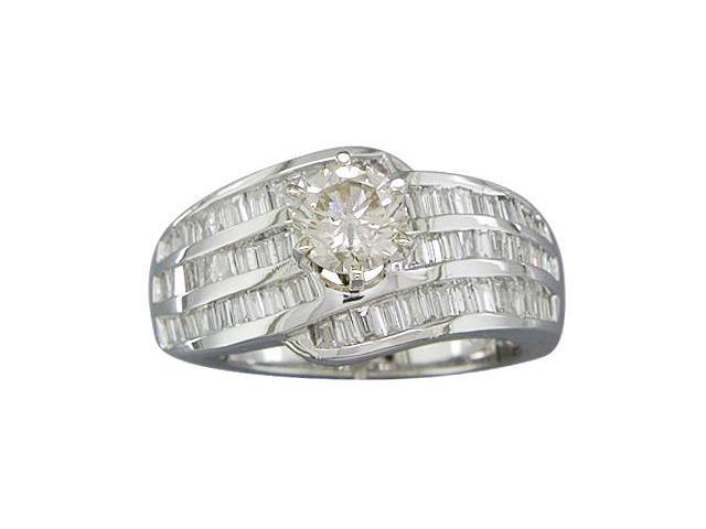 EGL CERTIFIED 1.69CTTW DIAMOND ENGAGEMENT RING