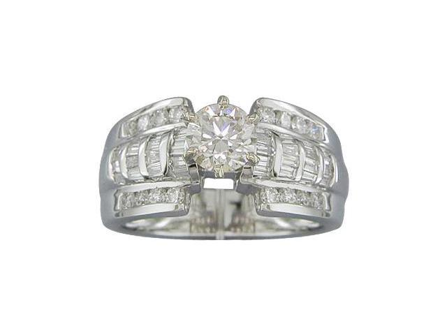 EGL CERTIFIED SI QLTY 1.25CTTW DIAMOND ENGAGEMENT RING