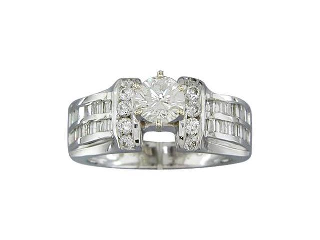 EGL CERTIFIED G/I1 QLTY 1.24CTTW DIAMOND RING