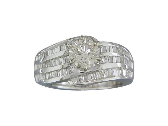 EGL CERTIFIED J/I1 1.77CTTW DIAMOND 14KT RING