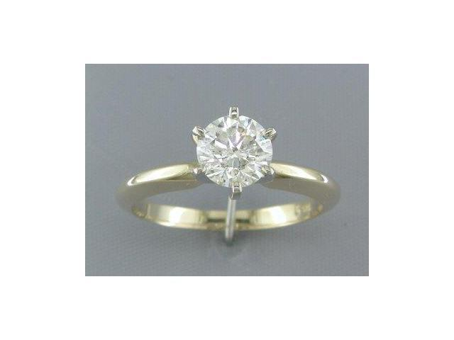 EGL CERTIFIED 0.97CT DIAMOND SOLITAIRE RING