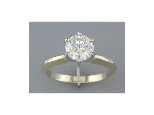 EGL CERTIFIED H/SI3 1.18CT DIAMOND SOLITAIRE RING