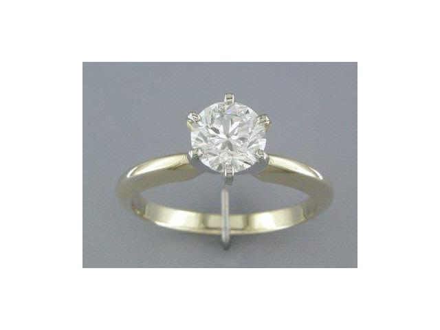 EGL CERTIFIED 1.09CT DIAMOND SOLITAIRE RING