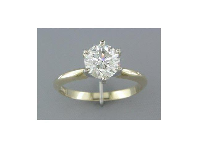 EGL CERTIFIED 1.22CT DIAMOND SOLITAIRE RING