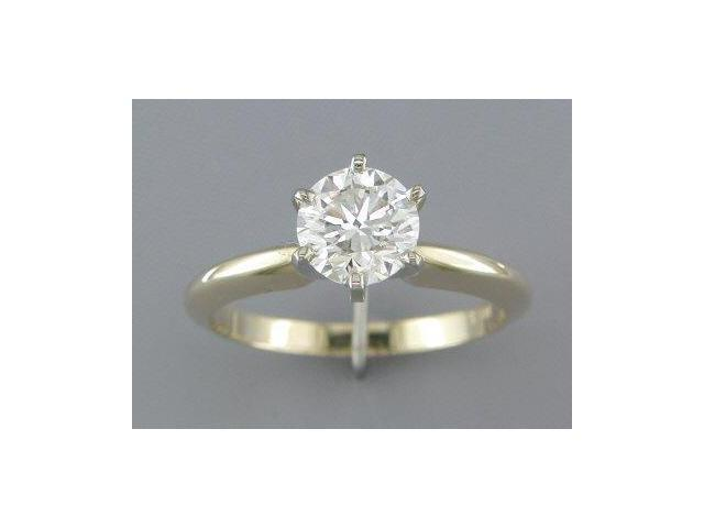 IDEAL CUT EGL CERTIFIED 1.11CT DIAMOND SOLITAIRE RING
