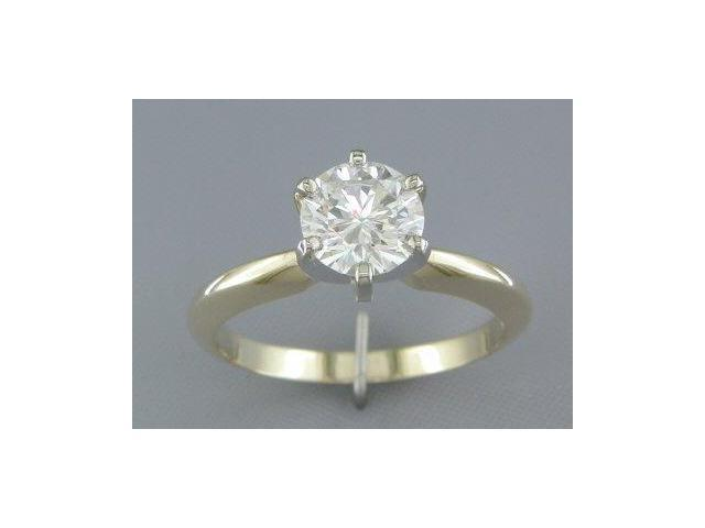 EGL CERTIFIED  H/SI2 1.07CT DIAMOND SOLITAIRE RING