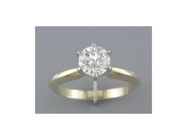 EGL CERTIFIED 1.03 DIAMOND SOLITAIRE RING