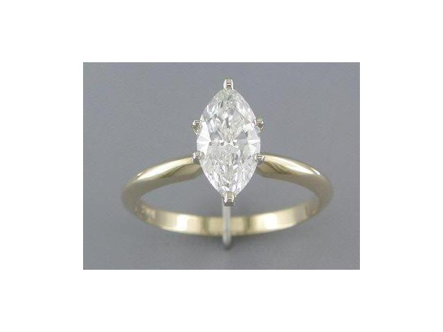 1.06CT MARQUISE DIAMOND SOLITAIRE RING EGL CERTIFIED